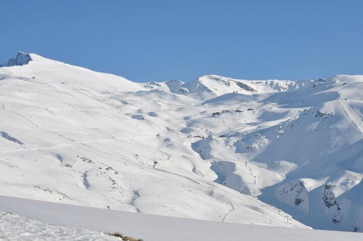 Pistas de Sierra Nevada