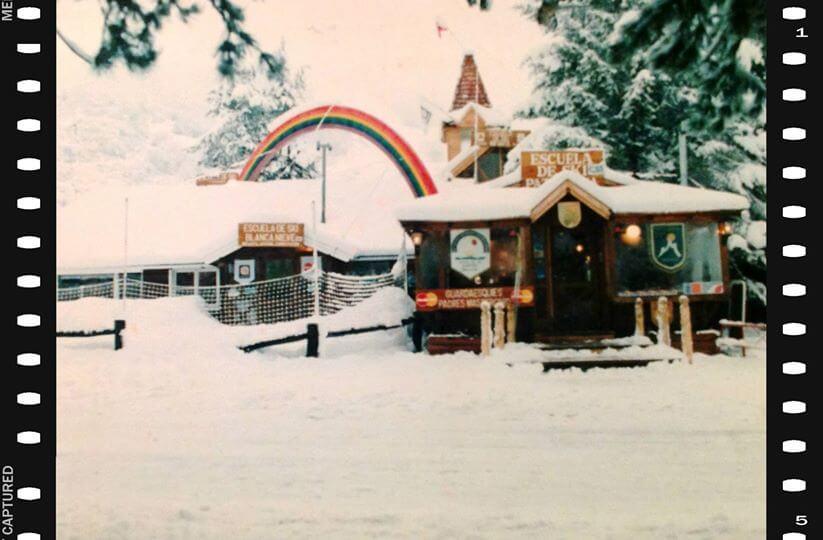 Local de la escuela Blanca Nieve en Patagonia