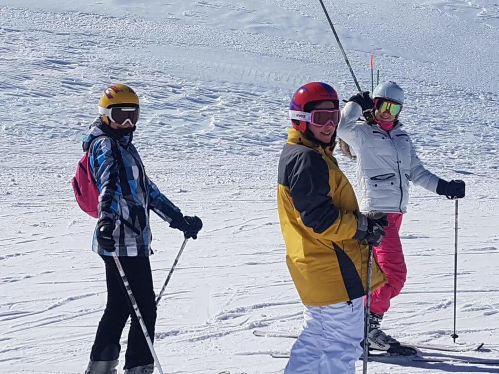 Escuela Alquiler Blanca Nieve en Sierra Nevada - Alumnas