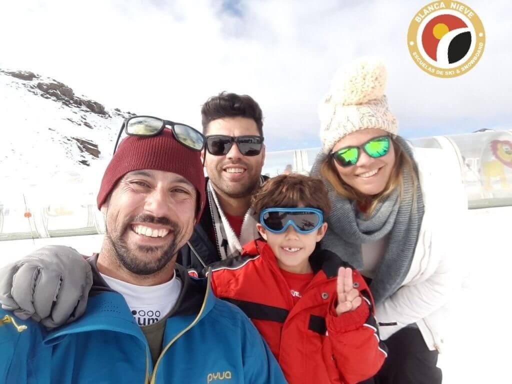 consejos para esquiar en familia