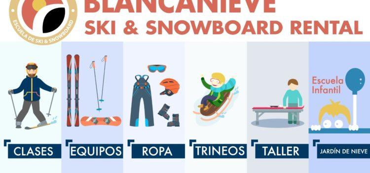 esquís snowboards rental granada