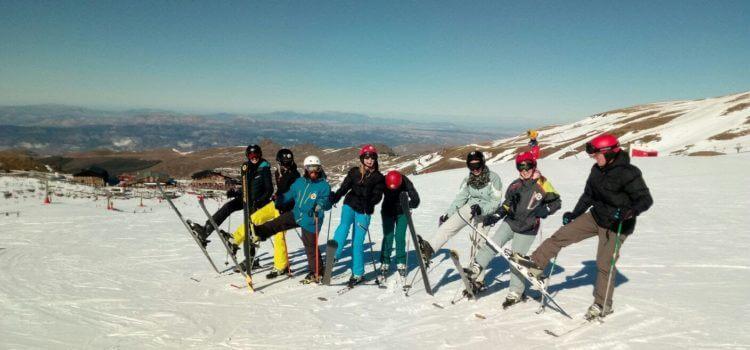 5 consejos para esquiar la primera vez