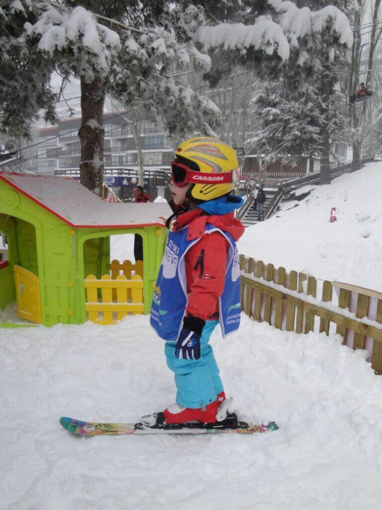 Niveles de esquí y snowboard