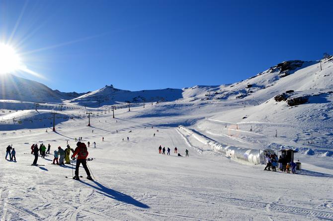 SIerra Nevada Esquí Borreguiles