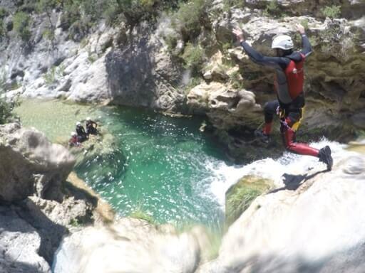 Barranquismo - Actividades de verano en Granada