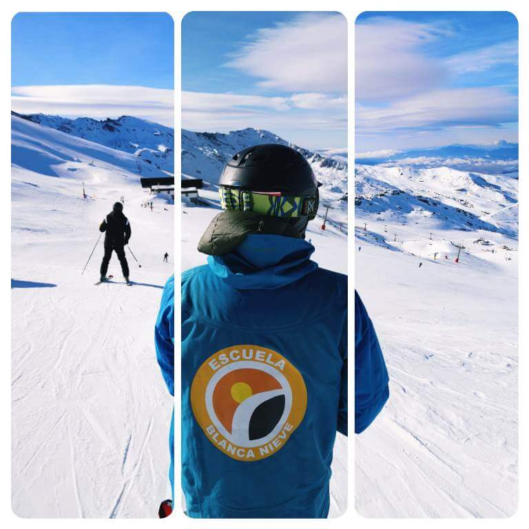 Ski Instructor in Sierra Nevada