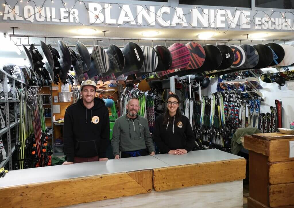 Team Blanca Nieve Ski school