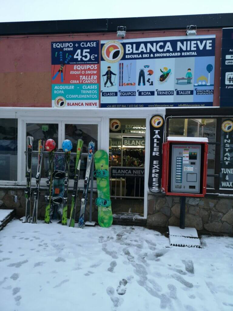Blanca Nieve store