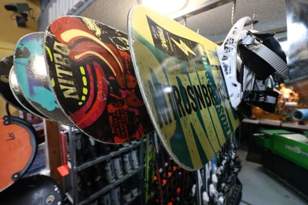 Snowboard and ski rental