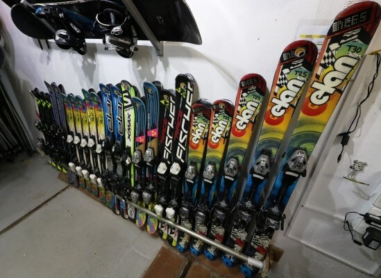 Ski and Snowboard rental equipment for kids