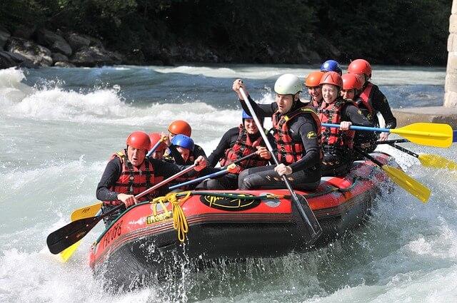 Rafting - Actividades de verano en Granada