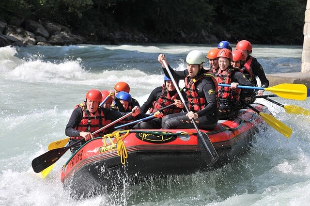 Rafting - Summer activities in Granada