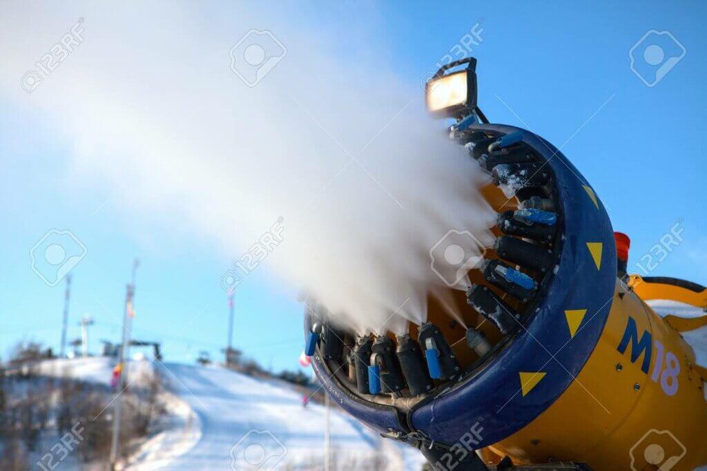 Sierra Nevada ha incorporado nuevos cañones de nieve