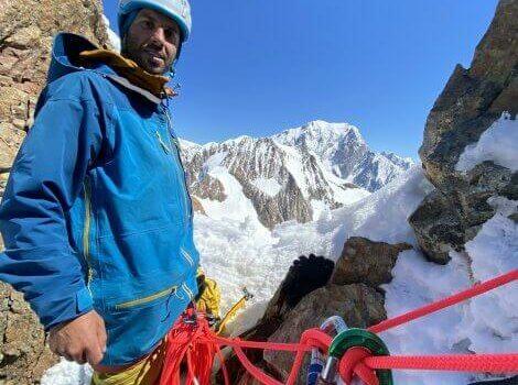 Niki Salencon Castelli en los alpes