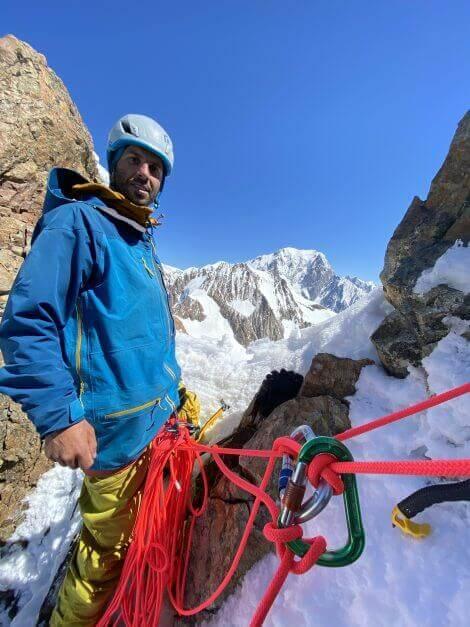Una aventura en Los Alpes Freerider Niki Salençon Castelli