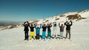 TEMPORADA de esquí SEGURA